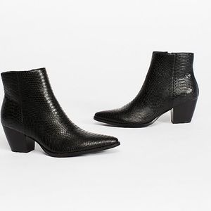 Free people Vegan leather boots
